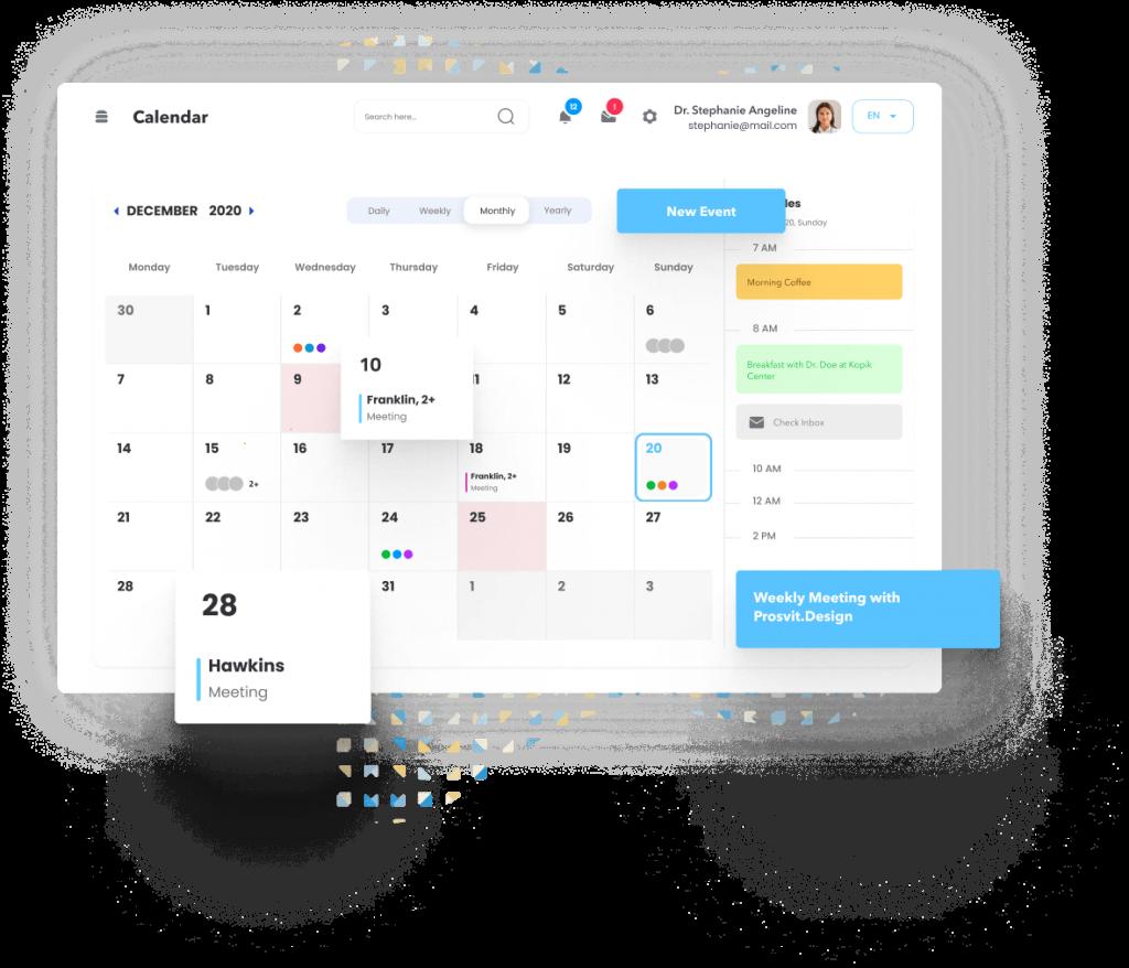 Intranet on WordPress Calendar