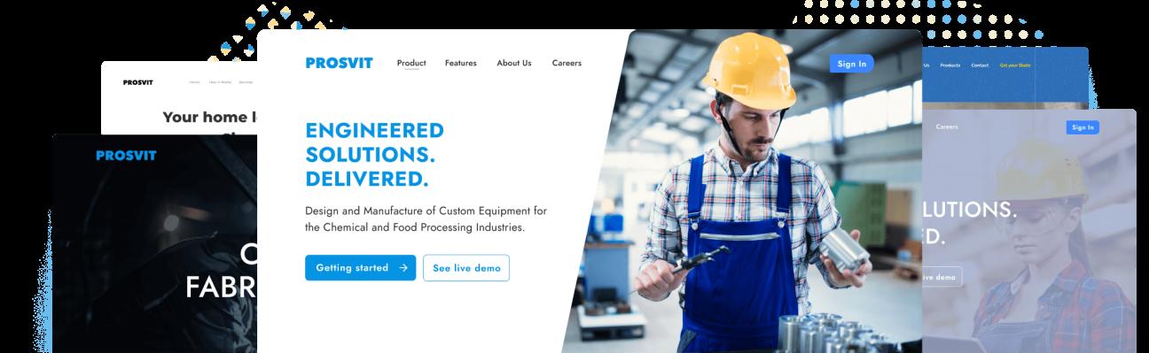 WordPress Website Design for  Manufacturing Companies